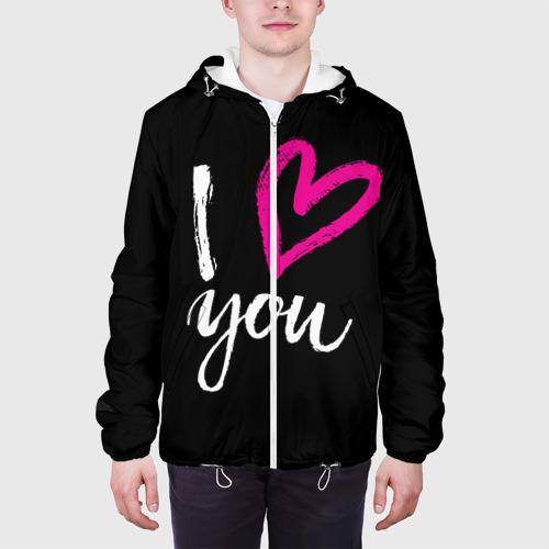 Мужская куртка 3D  Фото 04, Valentine's Day, I Iove you