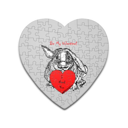 Пазл сердце 75 элементов  Фото 01, Be my Valentine