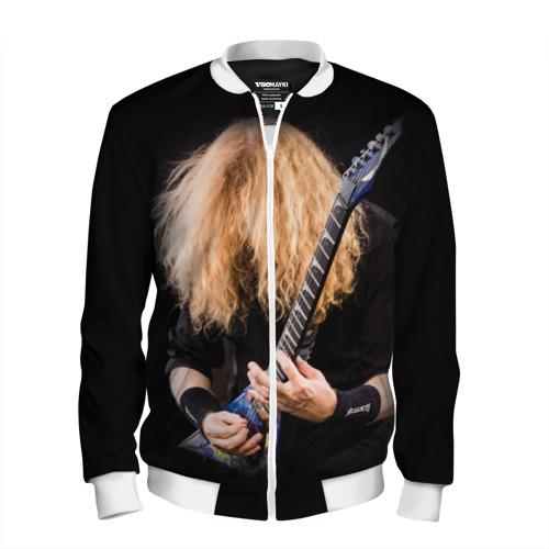 Мужской бомбер 3D  Фото 01, Dave Mustaine