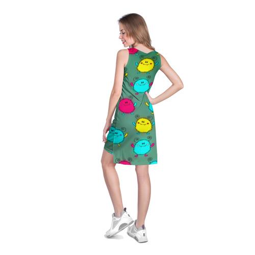 Платье-майка 3D  Фото 04, Монстрики