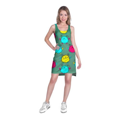 Платье-майка 3D  Фото 03, Монстрики