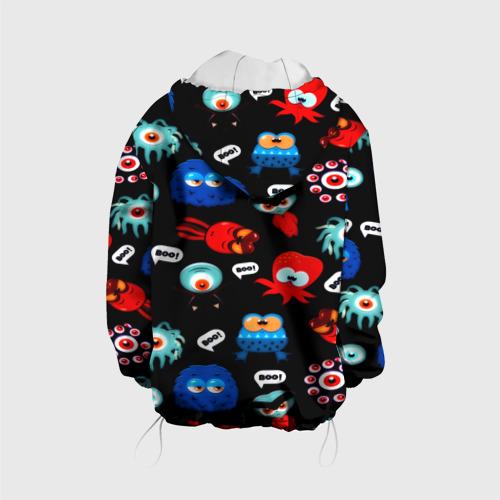 Детская куртка 3D  Фото 02, Милые монстры