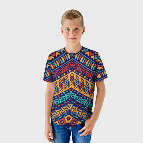 Детская футболка 3D  Фото 01, Африка
