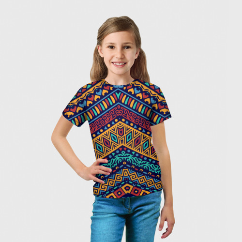 Детская футболка 3D  Фото 03, Африка