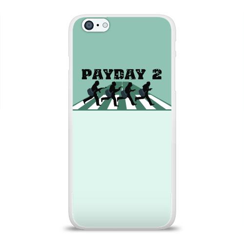 Чехол для Apple iPhone 6Plus/6SPlus силиконовый глянцевый  Фото 01, Payday 2