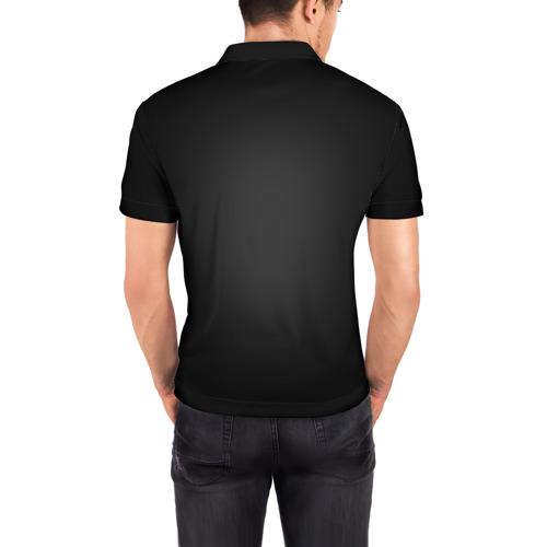 Мужская рубашка поло 3D Стены Фото 01