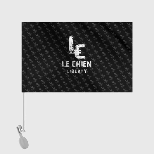 Флаг для автомобиля  Фото 02, LE CHIEN