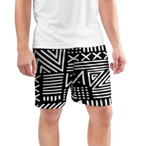 Мужские шорты 3D спортивные  Фото 03, Pattern