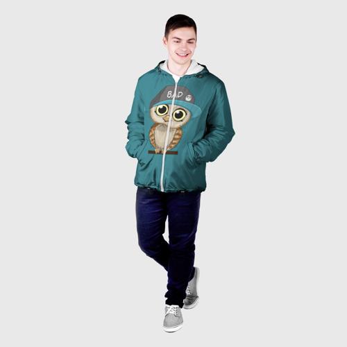 Мужская куртка 3D  Фото 03, Сова мальчик (парная)