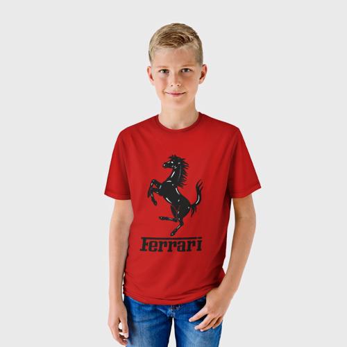 Детская футболка 3D Феррари