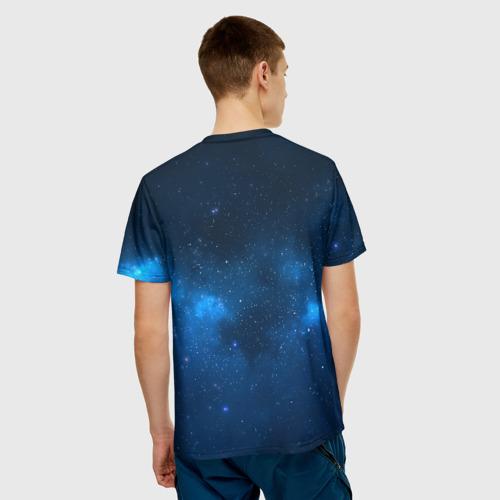 Мужская футболка 3D  Фото 02, Космическая гитара