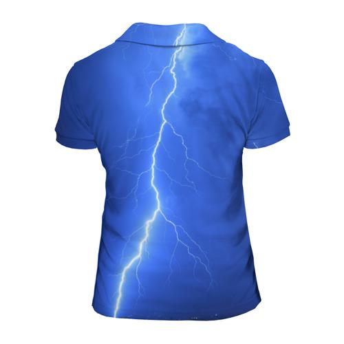 Женская рубашка поло 3D  Фото 02, AC/DC