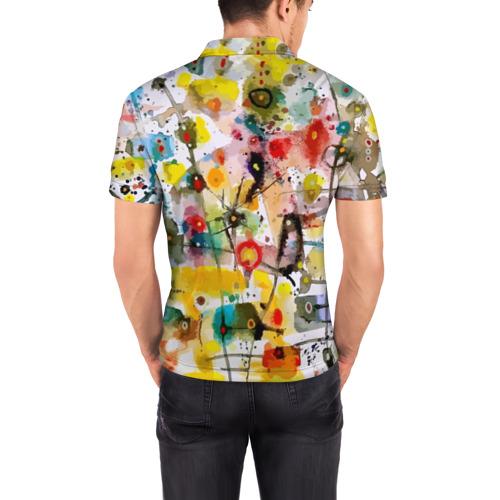 Мужская рубашка поло 3D  Фото 04, Абстрактное искусство
