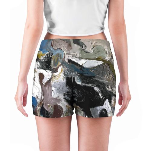 Женские шорты 3D  Фото 04, Абстрактное искусство