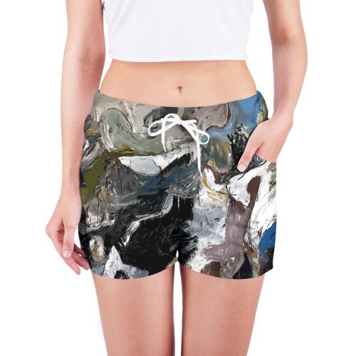 Женские шорты 3D  Фото 03, Абстрактное искусство