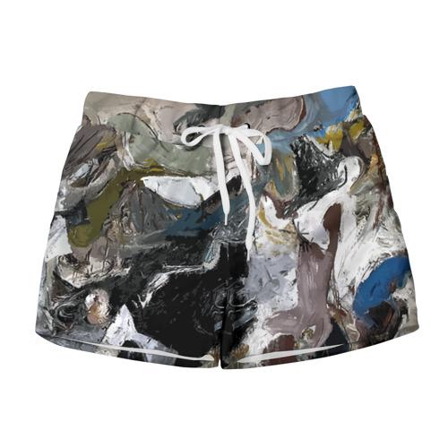 Женские шорты 3D  Фото 01, Абстрактное искусство