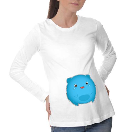 Лонгслив для беременных хлопок  Фото 01, Аниме монстрик