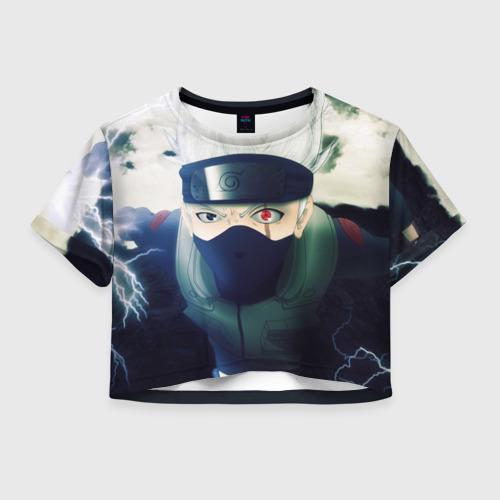 Женская футболка Cropp-top Наруто Фото 01