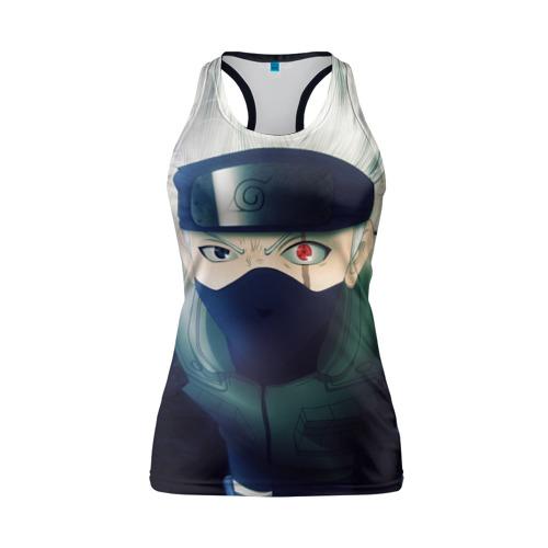 Женская майка 3D спортивная Наруто Фото 01