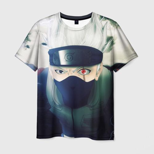 Мужская футболка 3D  Фото 01, Наруто