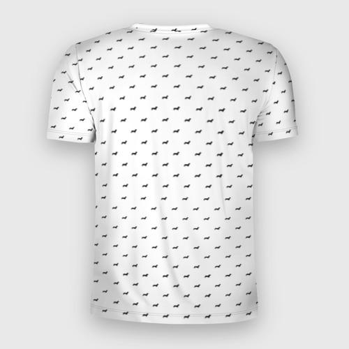 Мужская футболка 3D спортивная  Фото 02, Таксы