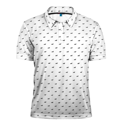 Мужская рубашка поло 3D  Фото 01, Таксы