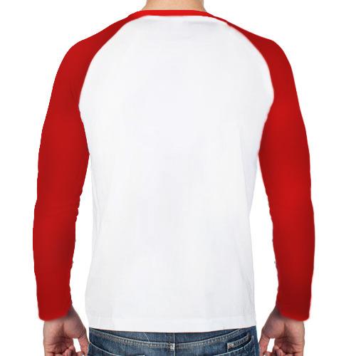 Мужской лонгслив реглан  Фото 02, Олень носит свитер с людьми