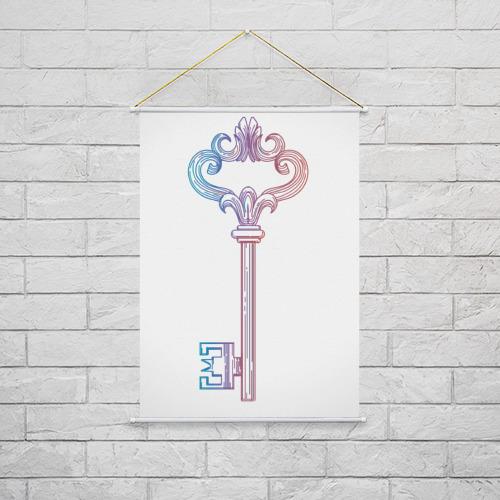 Тканевый плакат  Фото 02, Ключик