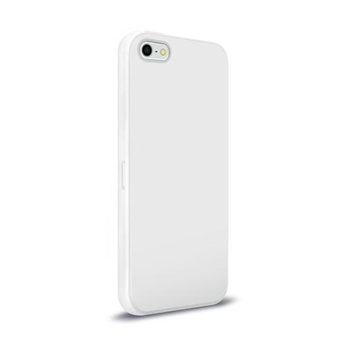 Чехол для Apple iPhone 5/5S силиконовый глянцевый  Фото 02, Замочек