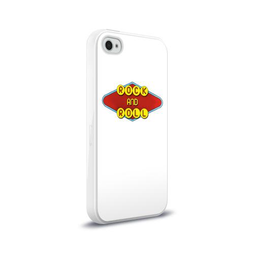 Чехол для Apple iPhone 4/4S силиконовый глянцевый  Фото 02, Rock and Roll
