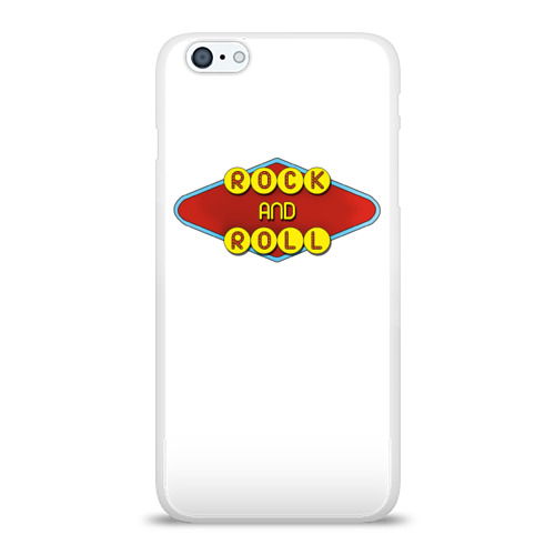 Чехол для Apple iPhone 6Plus/6SPlus силиконовый глянцевый  Фото 01, Rock and Roll