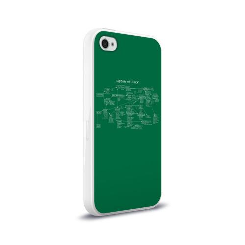 Чехол для Apple iPhone 4/4S силиконовый глянцевый  Фото 02, History of Rock