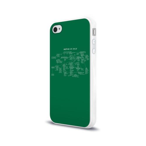 Чехол для Apple iPhone 4/4S силиконовый глянцевый  Фото 03, History of Rock