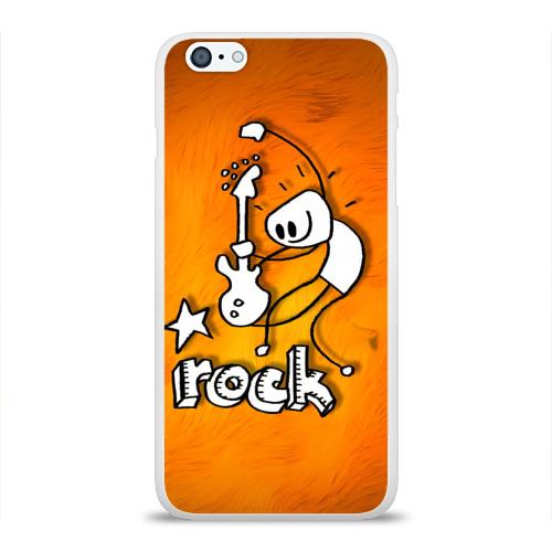 Чехол для Apple iPhone 6Plus/6SPlus силиконовый глянцевый  Фото 01, rock