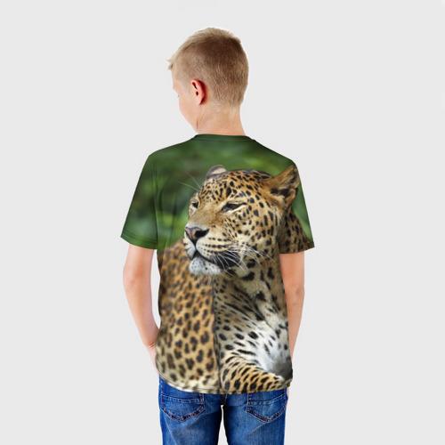 Детская футболка 3D  Фото 02, Леопард