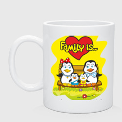 Family is... Pinguins family.