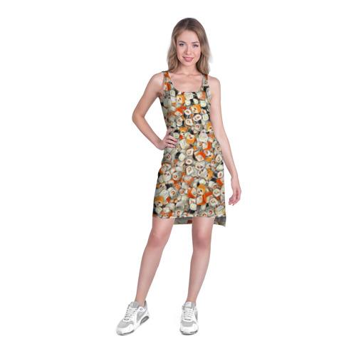 Платье-майка 3D  Фото 03, Суши