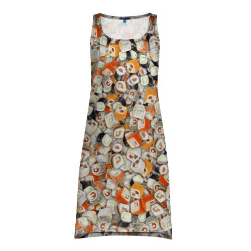 Платье-майка 3D  Фото 01, Суши