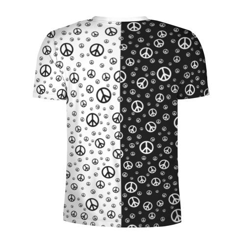 Мужская футболка 3D спортивная  Фото 02, Peace Symbol