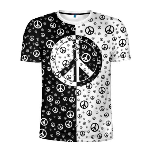Мужская футболка 3D спортивная  Фото 01, Peace Symbol