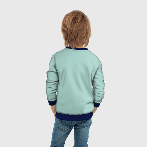Детский свитшот 3D Половинка сердца Фото 01
