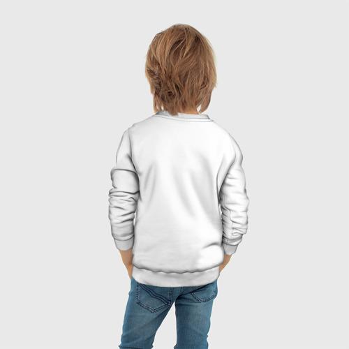 Детский свитшот 3D Робот-мальчик Фото 01