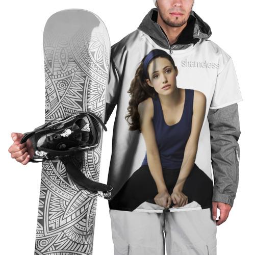 Накидка на куртку 3D  Фото 01, Бесстыжие, Эмми Россум