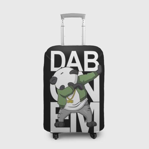 Чехол для чемодана 3D Panda dab Фото 01