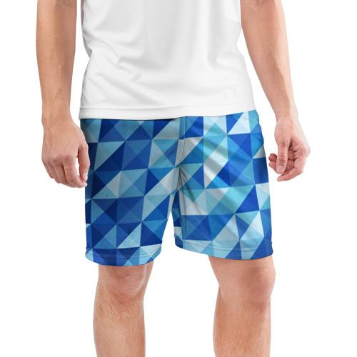 Мужские шорты 3D спортивные  Фото 03, Кубизм