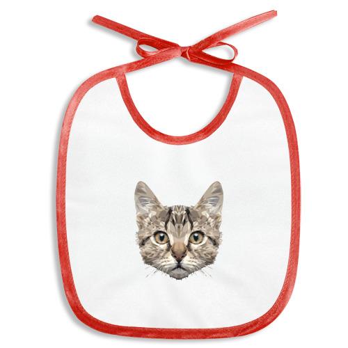 Слюнявчик  Фото 01, Низкополигональный кот