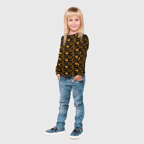 Детский лонгслив 3D  Фото 04, Любовь