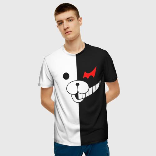 Мужская футболка 3D Monokuma