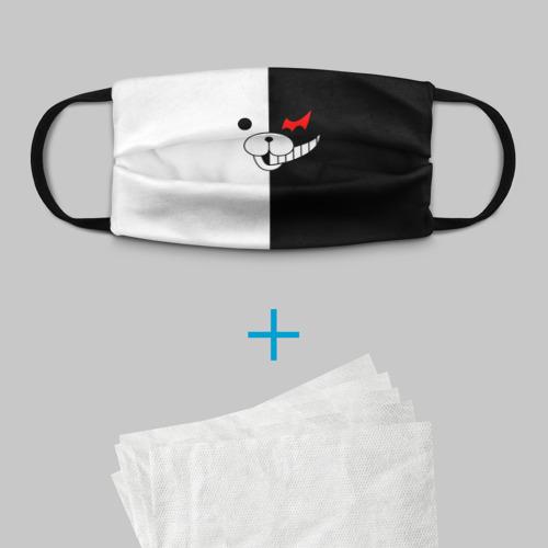 Детская маска (+5 фильтров) Monokuma Фото 01