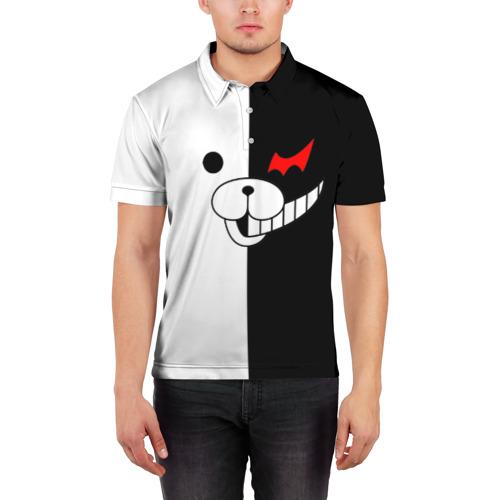 Мужская рубашка поло 3D Monokuma Фото 01